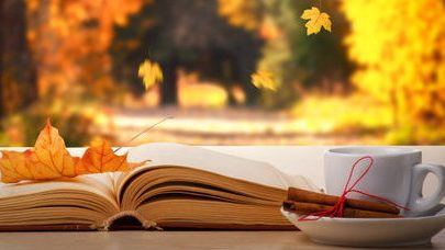 Image result for images of autumn and books